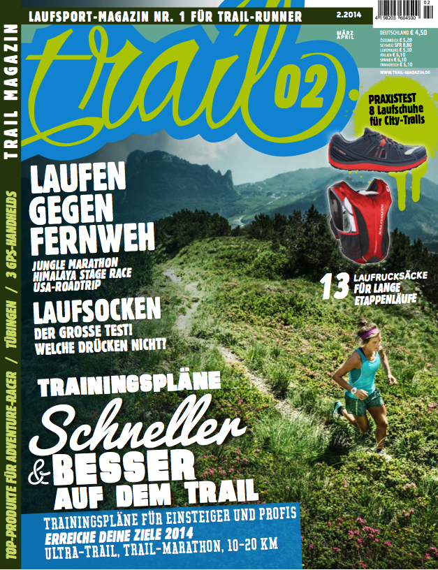 Trail Magazin Cover